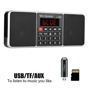 Image 3 - Stereo Auto Digital FM Radio Media Lautsprecher Mp3 Musik Player Unterstützung Speicher Karte USB Stick Mit Led bildschirm Display Timer funktion