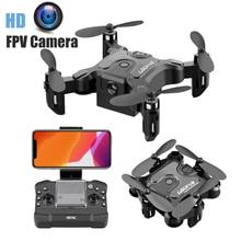 цена RC Drone 4K HD Camera Mini Drone Quadcopter 1080P WIFI FPV Camera Foldable Drone Altitude Hold Headless Mode RC Quadcopter онлайн в 2017 году