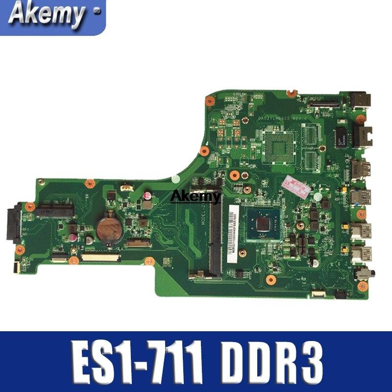 For ACER ASPIRE ES1-711 Laptop Motherboard  NBMS211001 DDR3 Mainboard Test Good