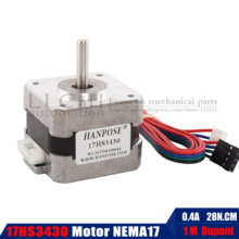 Motor Printer-Parts Nema 42BYGH 17HS3430 4-Lead for Nema17/stepper-Motor 17-motor/42bygh/0.4a/..