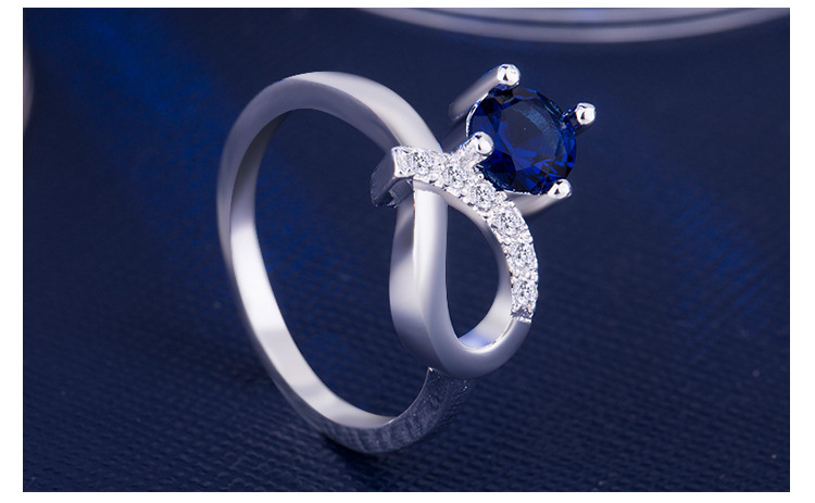 ring 925 silver jewelry for women x3