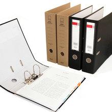 Large Capacity A4 2 Ring Binder Folder Office Files Organizer A4 Binder Ring Folder For Document Organizer