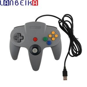 Image 1 - LANBEIKA filaire contrôleur de jeu USB manette de jeu manette USB manette de jeu pour Nintendo cube de jeu pour N64 64 PC pour Mac manette
