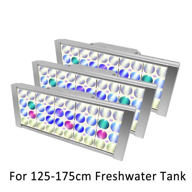 Akvaryum led ışık balık tankı ışık led lamba tatlı su tankı bitkiler akvaryum akıllı dim gündoğumu günbatımı