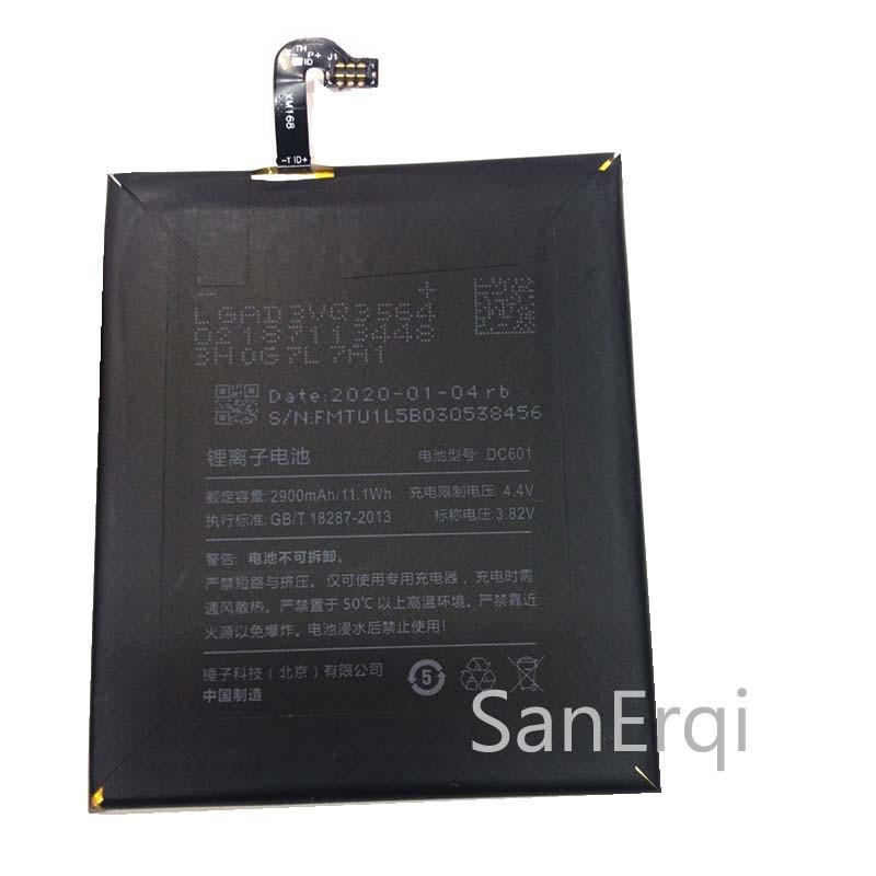 DC601 Батарея для Smartisan U1 YQ601 YQ603 YQ605 YQ607 DC601 мобильный телефон Батарея