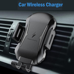 Car Mount Qi Wireless Charger For IPhone XS Max X XR 8 Fast Wireless Charging Car Phone Holder For Huawei P 20 30 Xiaomi