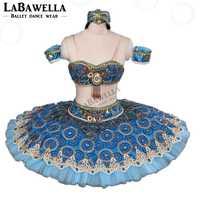 Wettbewerb Platter Professionelle Ballett Kostüme BT9057 Le Corsaire Blau Professionelle Ballett Glissade Tutu Klassische Leistung