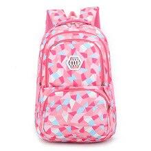 Litthing 2019 Children School Bags For Teenagers Boys Girls Big Capacity Backpack Waterproof Satchel Kids Book Bag