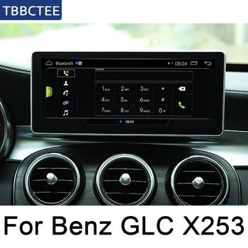 Pour Mercedes Benz GLC classe X253 2015 ~ 2019 NTG HD écran Android voiture GPS Navi carte stéréo Style Original lecteur multimédia Radio