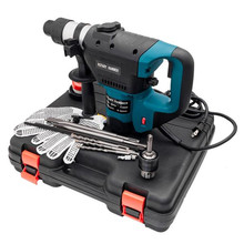 110V 1100 W Electric Hammer Drill Set Perforator impact handle hammer drill cordless