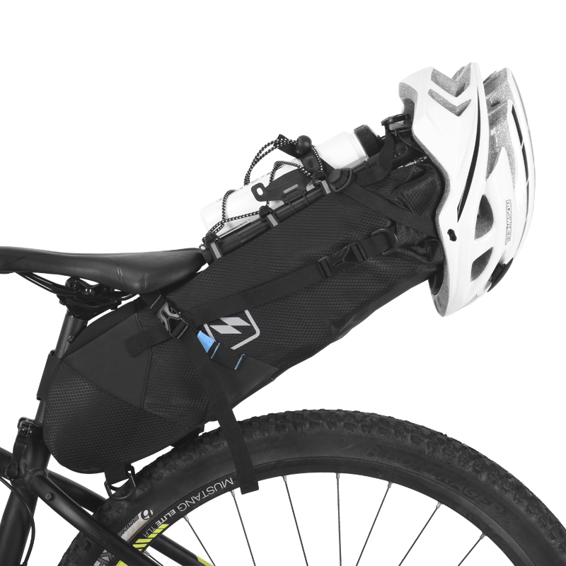 MTB Bike Bicycle Waterproof Saddle Bag Seat Storage Pouch Cycling Rear Pack
