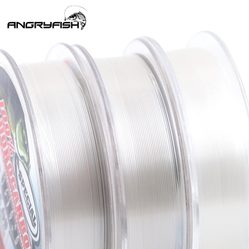 Perfect No1Fishing Line Angryfish Fluorocarbon Fishing Lines cb5feb1b7314637725a2e7: Clear|Pink