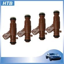1 4 adet yakıt enjektörü memesi enjeksiyonu 0280156023 SAAB 9-3 9-5 2.3L 85212250 FJ814 mikro filtre kauçuk o'rings VD-RK-0106