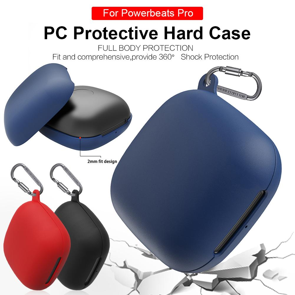 New Travel Silicone Protective Case Full Cover For Beats Powerbeats Pro Wireless Headphones Holster Headphones in Earphone Accessories from Consumer Electronics