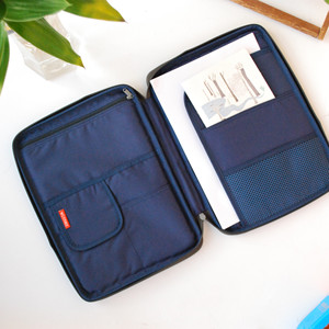 Image 4 - Multi functional A4 Document Bags Filing Pouch Portable Waterproof Oxford Cloth Organized Tote For Notebooks Pens Computer Stuff