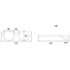 Image 5 - En iyi kalite ahşap şerit titanium gözlük çerçeveleri reçete gözlük veya dekorasyon