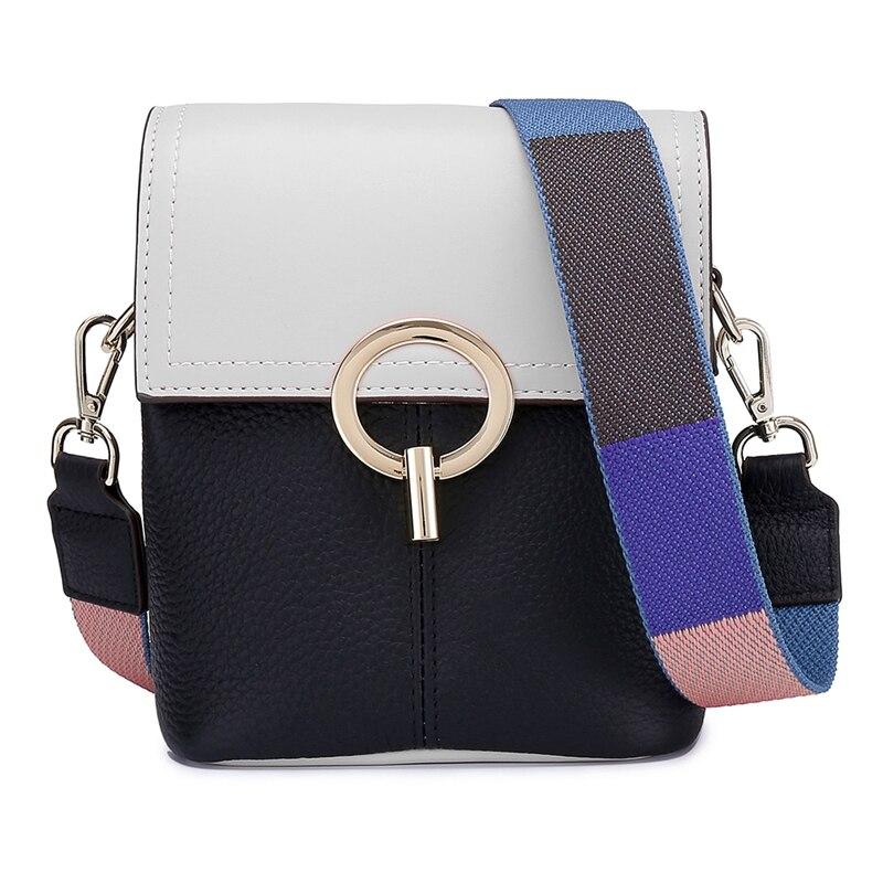 2019 offre spéciale sac à main mignon frais sacs à bandoulière pour les femmes en cuir véritable sacs à bandoulière pour dame deux bretelles femmes sac