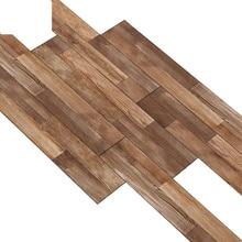 Wooden Floor Sticker Waterproof  Self-adhesive Decorative Tile Living Room Bedroom House Decoration