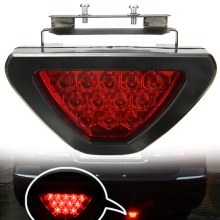 New Arrival 1pc Brake Lights Universal F1 Style 12 LED Red Rear Tail Third Stop Safety Lamp Light Car Signal