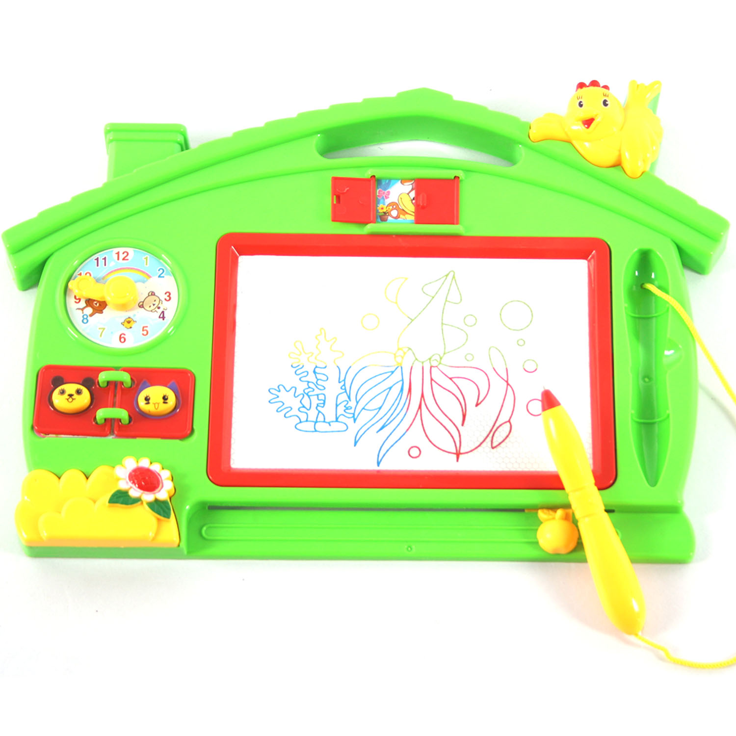 Reuse Colorful Magnetic Drawing Board Large Writing Board Baby Painting Graffiti Writing Erasable Doodle Boards Drawing Kid Toys