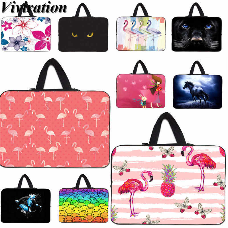 Vogue Funda Computer 14 13 10 15 17 17.3 Laptop Sleeve Tas Voor Acer HP Envy Lenovo Samsung 13.3 11.6 12 12.1 Notebook Case Cover