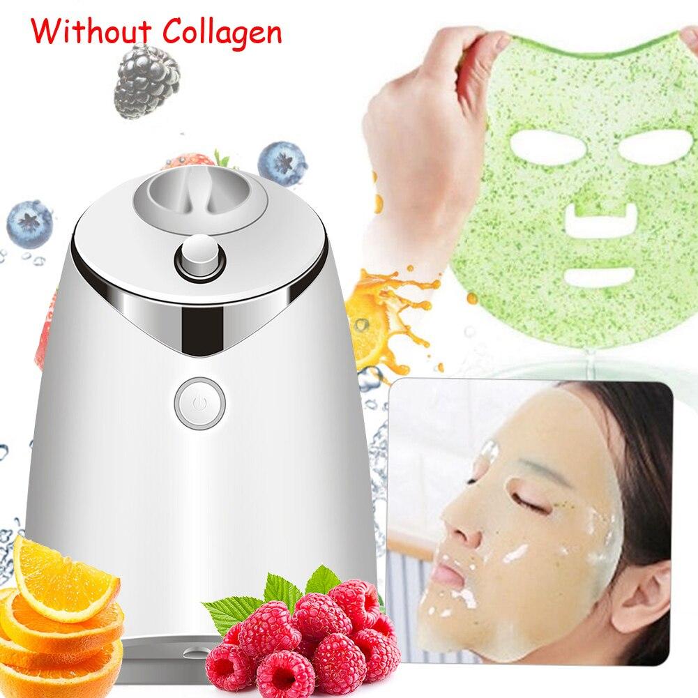Интеллектуальная голосовая машина для нанесения фруктовой маски на лицо, домашняя самодельная маска для лица с фруктами и овощами, самодел...