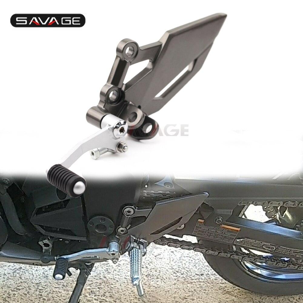 for Kawasaki Ninja 300 EX250//300R VERSYS//Z 250 Footrest Bracket Peg Shift Lever