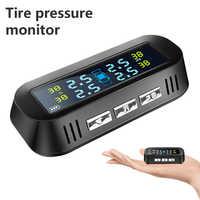Sensores externos de coche, sistema de supervisión de presión de neumáticos TPMS, accesorios inalámbricos para el Monitor de neumáticos de coche
