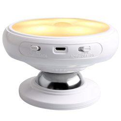 Ночной светильник с датчиком горячего движения, съемное магнитное основание, Перезаряжаемый USB светодиодный, индукция человеческого тела, ...