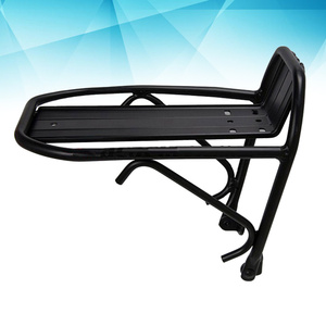 Aluminum Alloy Bike Cargo Front Rack Bicycle Luggage Rack Cycling Goods Carrier 10KG Load