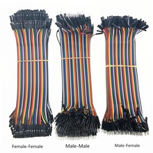 Jumper-Wire Dupont-Cable Arduino-Diy-Kit 40pin Female-To-Female 40-120pcs for 10CM And