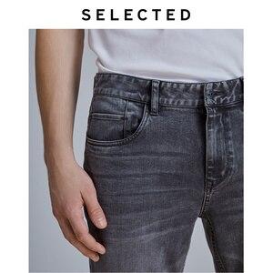 Image 5 - Geselecteerd Mannen Slim Fit Stretch Katoen Grijs Jeans Lab