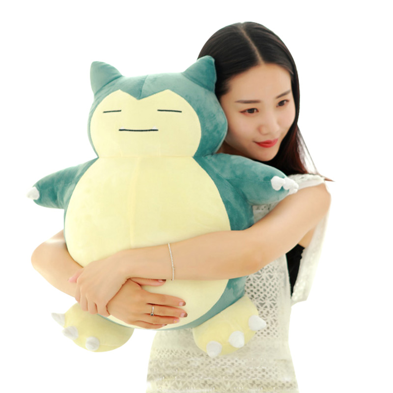 Toy Pillow-Toys Plush-Figure Snorlax Anime Stuffed Children Soft For Girls 30cm-55cm
