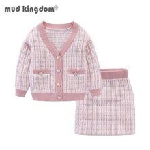 Детский комплект из Свитера и юбки на осень
