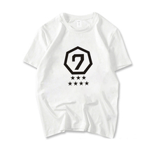 GOT7 Printing Casual T Shirt Short Sleeve Summer Fashion O-neck T-shirt For Women Girls Cotton Short-sleeve Unisex Cool Tees