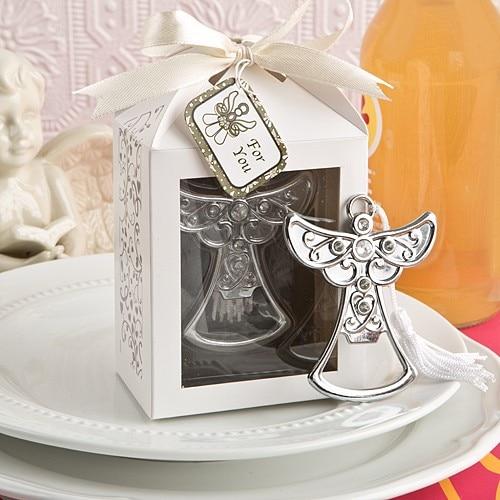 Alloy Angel Bottle Opener Barware Wedding Favors Reception Gift Baby Bridal Shower Souvenirs Wedding Favor Gift 20pcs/lot