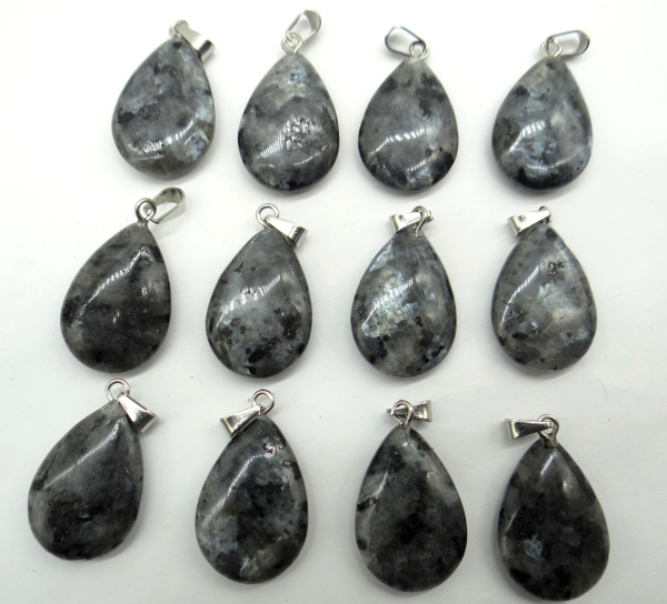 10pcs Natural Water droplets mahogany obsidian agate Gemstone pendant  Necklace