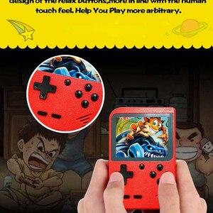 Image 2 - Retro Mini Di Động Chơi Game Cầm Tay 8 Bit Màn Hình Màu LCD 2.8 Inch Trẻ Em Màu Video Game Người Chơi Xây Dựng năm 168 Trò Chơi