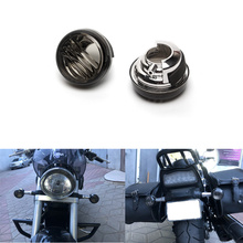 Triclicks Smoke Clear LED Light Cover Lens Motorcycles Turn Signal Lense For Suzuki Boulevard M50 C50 VL800 C90 1500 M109R C109R 4x clear turn signal lenses for 2006 2012 suzuki boulevard m109r motorcycle signal lamp cover lampshade scooter