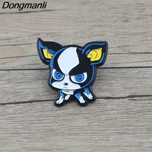 K622 Cartoon Anime Jewelry Dog Pins Metal Brooches and Pins Enamel Pin for Backpack Badge Brooch T-shirt Collar Jewelry Gifts k313 trick r treat horror pins metal brooches and pins enamel pin for backpack bag badge brooch t shirt halloween jewelry