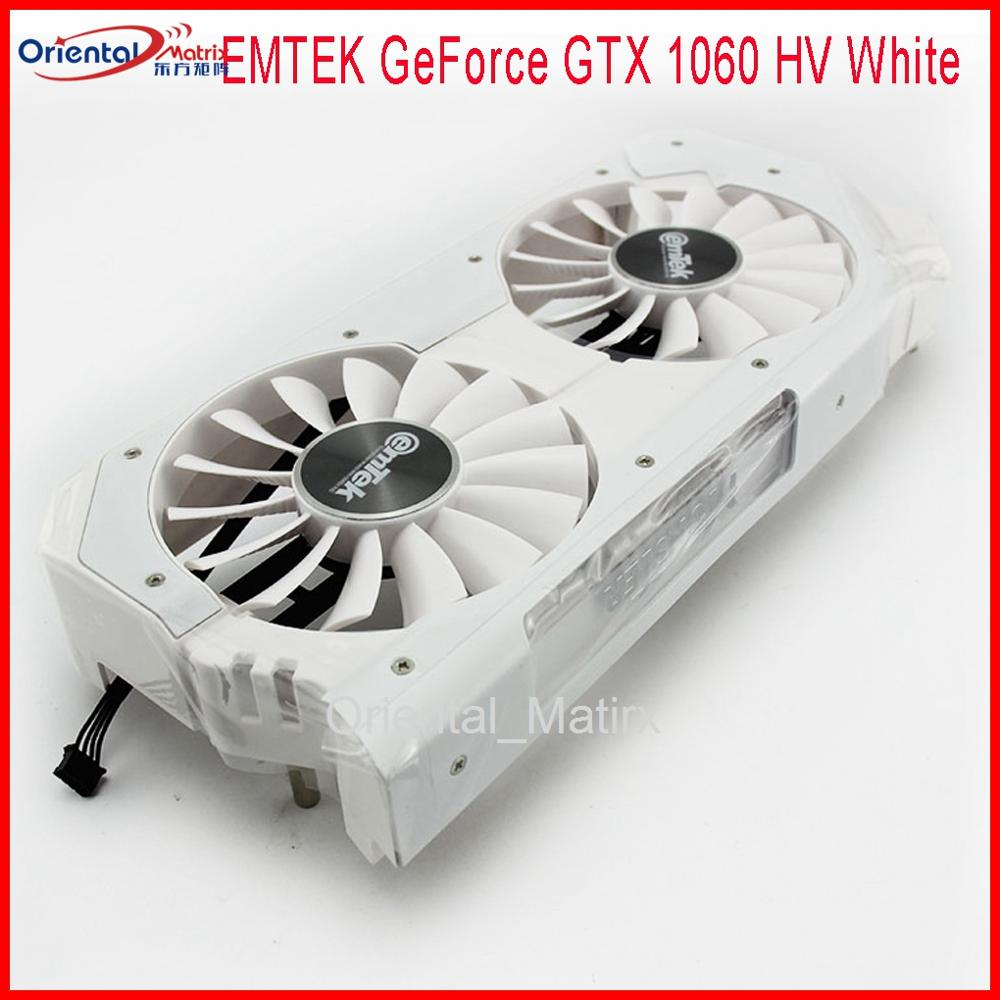 Original FD9015U12S DC12V 0.55A 88mm Video Fan For EMTEK GeForce GTX 1060 HV White MONSTER OC Graphics Card Cooling Fan image