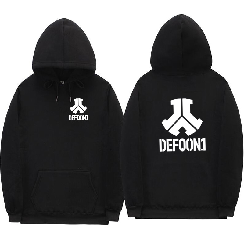 2019 New Defqon 1 Hoodies Rock Band Hip Hop Men Hoodie Sweatshirt Winter Autumn Streetwear Casual Fleece Hoodie Pullover