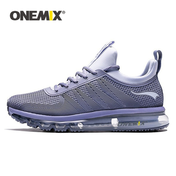 ONEMIX 2020 New Arrival Unisex Sneakers Men's Breathable Running Shoes Air Cushion Outdoor Sport Lace-up Treckking Jogging Shoes