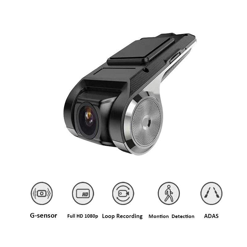 TOSPRA ADAS Mini Car DVR Camera Full HD Car Digital Video Registrator Recorder Night Vision WIFI Dash Cam Monitor