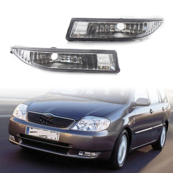 Auto Front Bumper Fog Lights DRL Driving Lamps For Toyota Corolla Kombi Limo E12 2001 2002 2003 2004 8122112160 8121112150