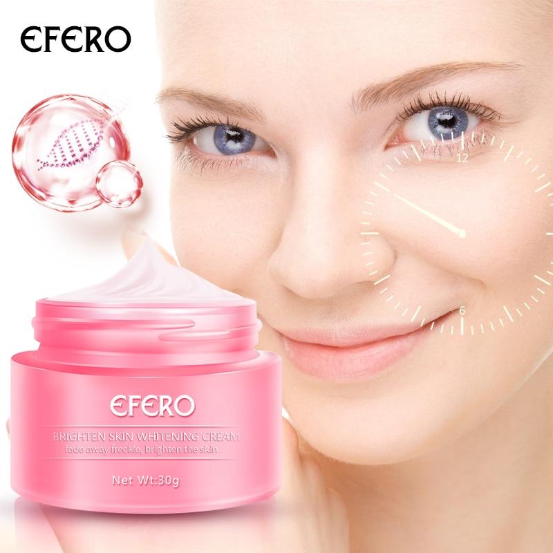 EFERO Skin Whitening Face Cream Freckles Cream Wrinkle Remover Pigmentation Moisturizer Day Cream For Dark Spot Whitening Cream