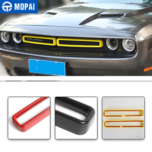 Image 3 - MOPAI Car Grille Air conditioning Vent Decoration Cover Stickers for Dodge Challenger 2015+ Exterior Accessories