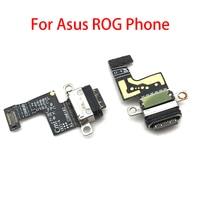 Para Asus ROG Telefone Dock Connector Carregador USB Micro Carregamento Porto Flex Cabo para Microfone Bordo