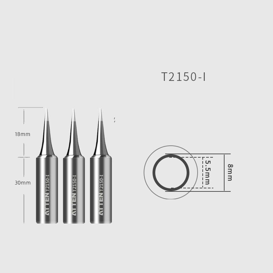 Original ATTEN Soldering Iron Tip Replacement Bit Head K B I 3C 5C 7C 3.2D 4.6D 6.5D Lead Free for ST-2150 ST-2150D 4