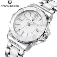 2019 neue PAGANI DESIGN Frauen Uhren Mode Luxus Armbanduhr Frauen Einfache Keramik Frauen Uhr Damen Uhr Relogio Feminino